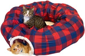Kitty City Large Cat Tunnel Bed | Cat Bed